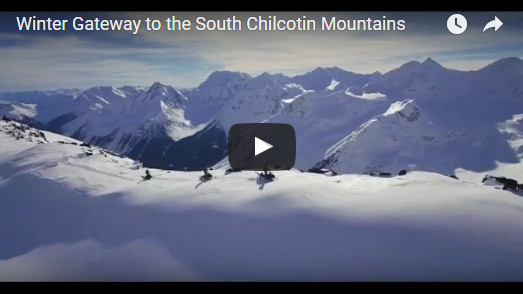 Winter Gateway to The Cochilcotin Mountains